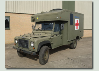 MOD Surplus - Ex Army Land Rovers