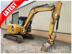 modsurplus - ex military vehicle - Caterpillar 308E 2CR Tracked Excavator - MoD Ref: 50393