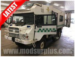 modsurplus - ex military vehicle - Pinzgauer 718 6×6 Ambulance - MoD Ref: 50383