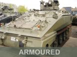 MOD Surplus - Ex Army Armoured Vehicles